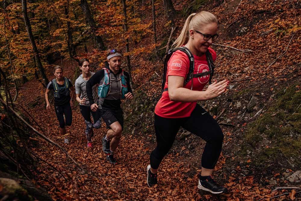 Trailrunning, Kurzlehrgang an der Tristyle Academy