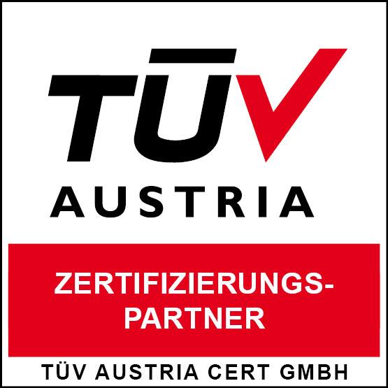 Zertifizierungspartner vom TÜV Österreich